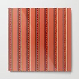 Andean Design Vibrant Colors Metal Print