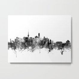 Beijing China Skyline Metal Print