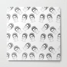 Frida Frida Frida Metal Print