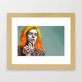 Bowie Eras Framed Art Print