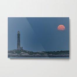 Full Buck Moon at the north tower Metal Print
