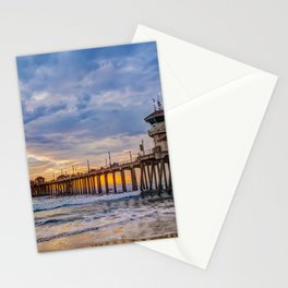 Unsettled Sunset Stationery Cards