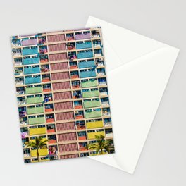Rainbow Building Stationery Cards