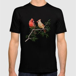 Northern Cardinal Mates T-shirt