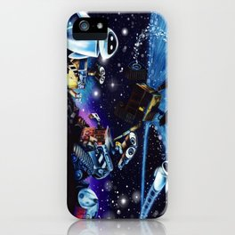 Wall-E Collage iPhone Case