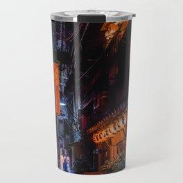 Tokyo alleyway Travel Mug