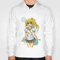 vocaloid Hoodies featuring Lenka (fanart) by jannaj