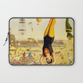The Great Coney Island Water Carnival – Barnum & Bailey Circus Poster Laptop Sleeve