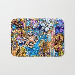 Gold, Glitter, Gems and Sparkles Bath Mat