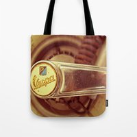 vespa Tote Bags featuring Vespa by HooVeHee