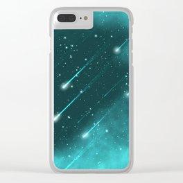 Meteorites Clear iPhone Case