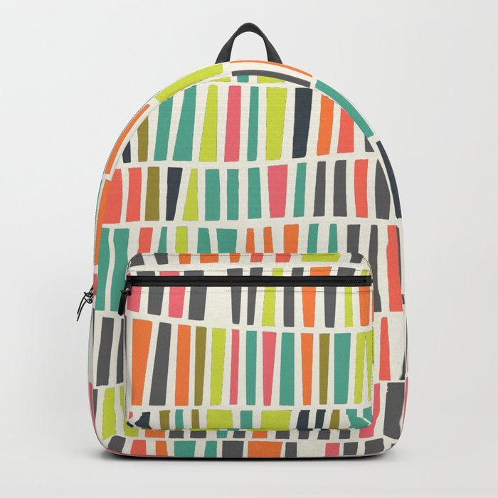Pastel pattern Backpack