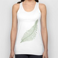 fern Tank Tops featuring fern  by Bonnie Durham