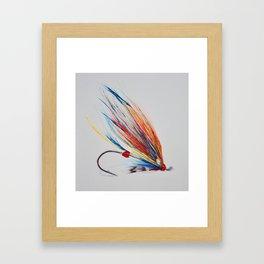 Salmon Fly Framed Art Print