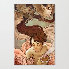 Avis Canvas Print