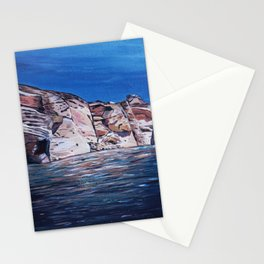 Red Rocks at Lake Powell Stationery Cards