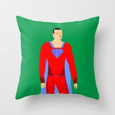 Superman (XII) Throw Pillow