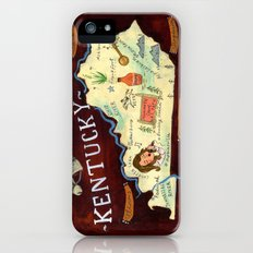 Kentucky iPhone (5, 5s) Slim Case
