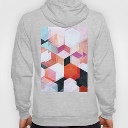 White Paint and Some Colors Hoody