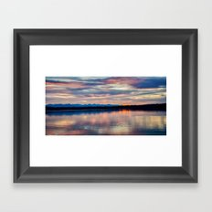 EVENING GLORY Framed Art Print