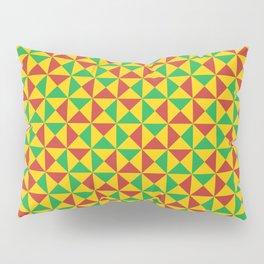 Afro Kente Cloth 3 Pillow Sham