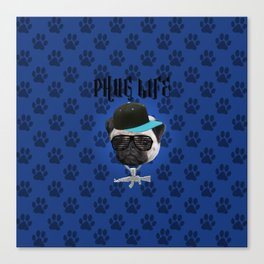 Phug Life Canvas Print