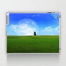 moon and windmill Laptop & iPad Skin