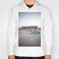 oasis Hoodies featuring The Oasis by Jeffrey Stroup