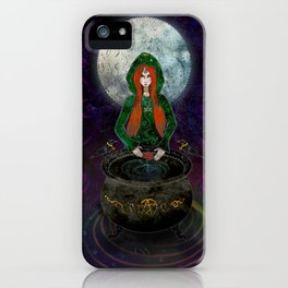 Cerridwen iPhone Case