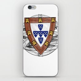 Old School Crest (Updated) iPhone Skin
