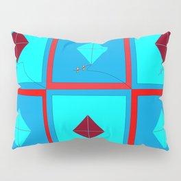 Grandma's Kites Quilt, My Version Pillow Sham