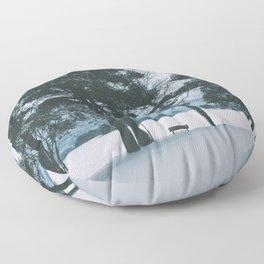 Winter IV Floor Pillow