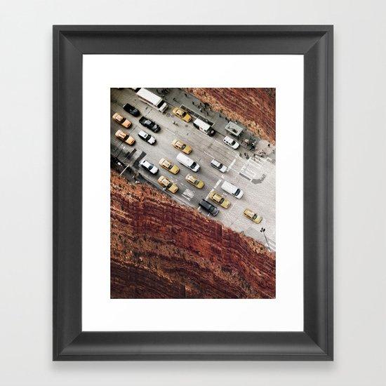overpass Framed Art Print