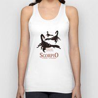 scorpio Tank Tops featuring Scorpio by Adamzworld