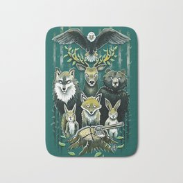 FoRest In Peace Bath Mat