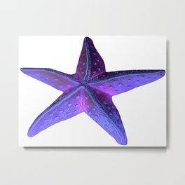 Sea Star (Starfish) by Aloha Kea Photography Metal Print