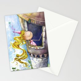 Princess Rapunzel Stationery Cards