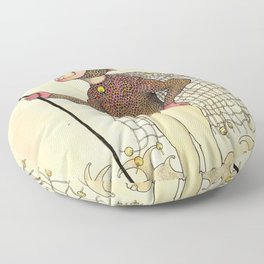 El pescado Floor Pillow