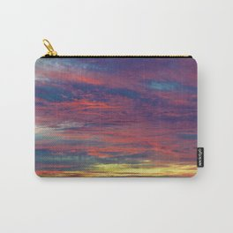 Cotton Candy coloured sky Carry-All Pouch