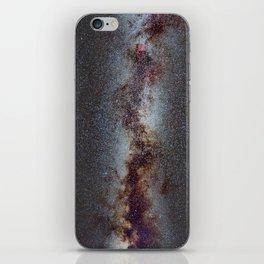 The Milky Way from Scorpio Antares and Sagitarius to North America Nebula in Cygnus iPhone Skin