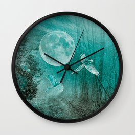 FOREST DREAMING Wall Clock