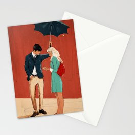 Broadway Bus Stop Stationery Cards