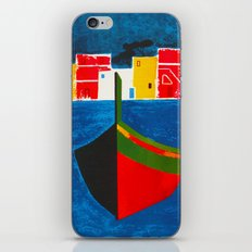 Vintage Procida Italy Travel iPhone & iPod Skin