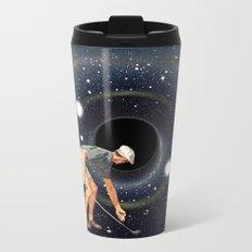 Black Hole in One Metal Travel Mug