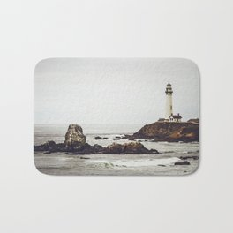 Lighthouse along the California Coast Bath Mat