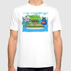 A Yoshi's Story Mens Fitted Tee MEDIUM White