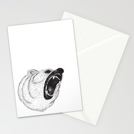 Hungry Bear Stationery Cards