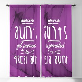 Gift for 1st Time Great Aunt - Great Aunts Blackout Curtain