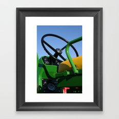 JD - In the Driver's Seat Framed Art Print