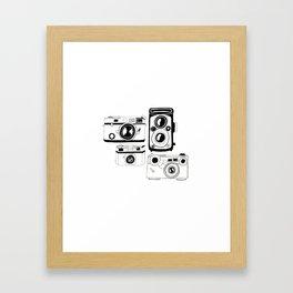 Click Click! Framed Art Print